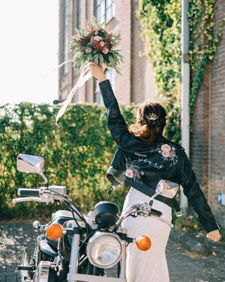 beschilderd jasje geen bolero aim your wedding