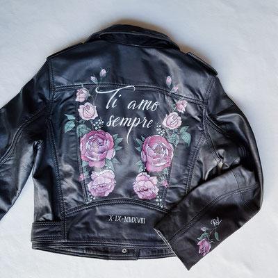 customized leather jacket