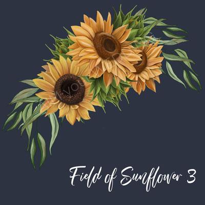 zonnebloemen voor de bruid