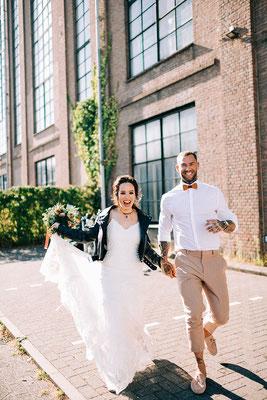 leren jasje bruiloft aim your wedding