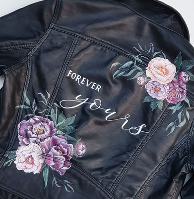 Customized LEATHER jackets by AIM your WEDDING Let's