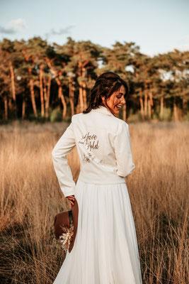 chic jasje voor de bruid