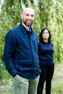 Abdelkader Benali en Nadia Bouras for de Volkskrant