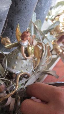 Adventskranz Detail