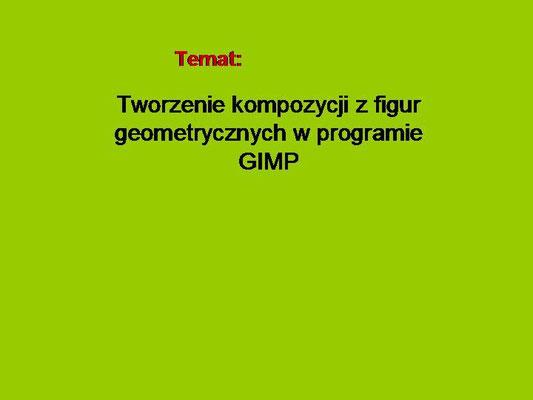 Figury Geometryczne W Gimp Strona Internetowa Againfomat