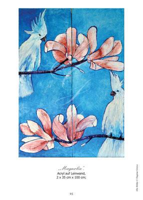 """""""Magnolia"""" Acryl auf Leinwand"""