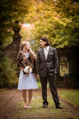 20er Jahre Wedding Shooting - Standesamtliche Trauung - Brautpaar