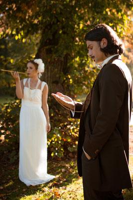 20er Jahre Wedding Shooting - Brautpaar