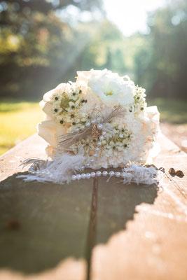 20er Jahre Wedding Shooting - Brautstrauss