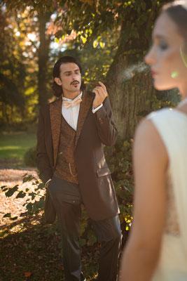 20er Jahre Wedding Shooting - Bräutigam