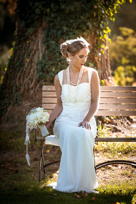 20er Jahre Wedding Shooting - Braut