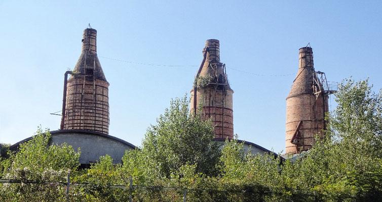 Industrieruine nach Zoppola