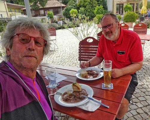 Gulasch in Bad Sauerbrunn