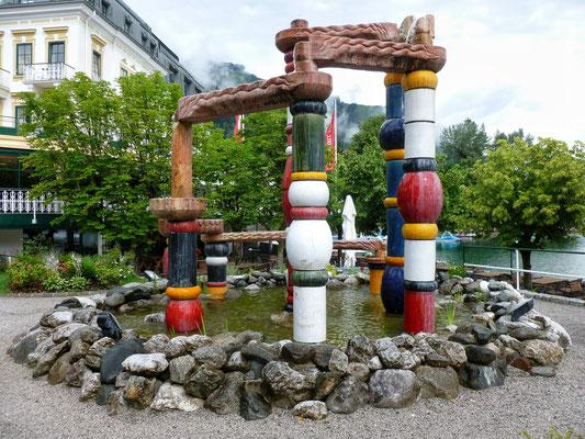 9 Bundesländer Brunnen von Hundertwasser