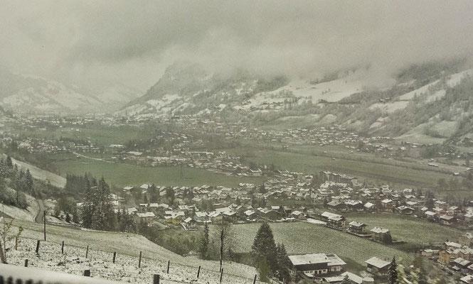 Schnee im Gasteinertal