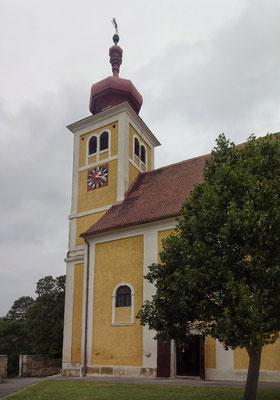 Die Bergkirche von Donnerskirchen