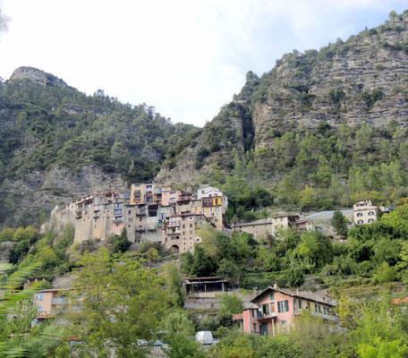Dorf an der Bahn