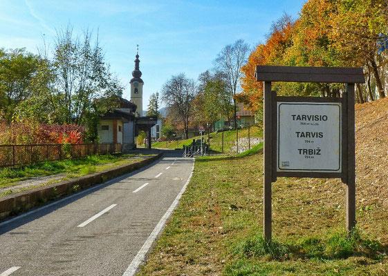 Alter Bahnhof von Tarvis
