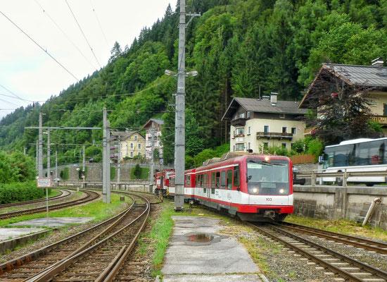 Schmalspurbahn nach Krimml