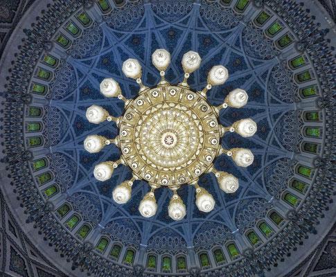 Leuchter in der Moschee
