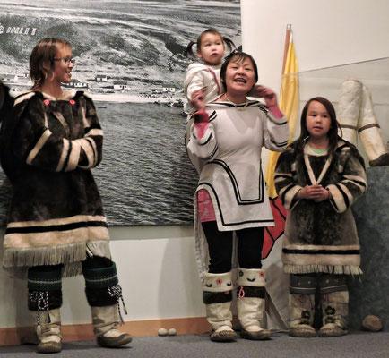 Kultur Vorführung der Inuit