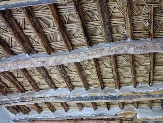 Decke in der Kasbah von Quarzazate