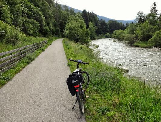 So schaut ein idealer Radweg aus!