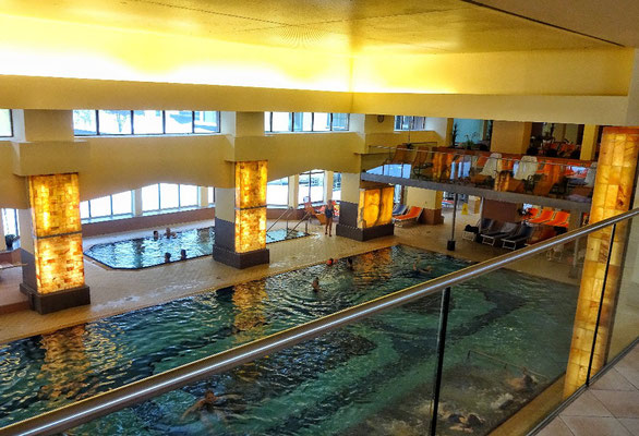 in der Therme