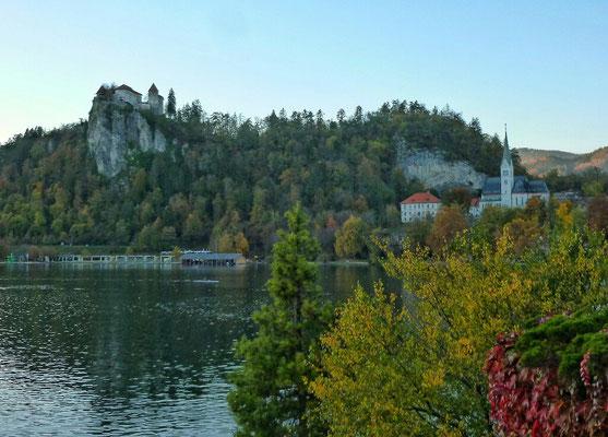 Burg und See von Bled
