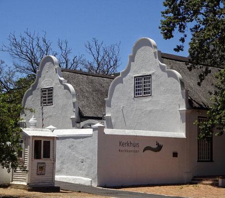 Alte Häuser unter Denkmalschutz
