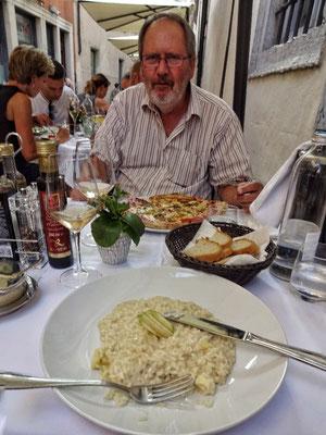Abendessen im Restaurant Chist