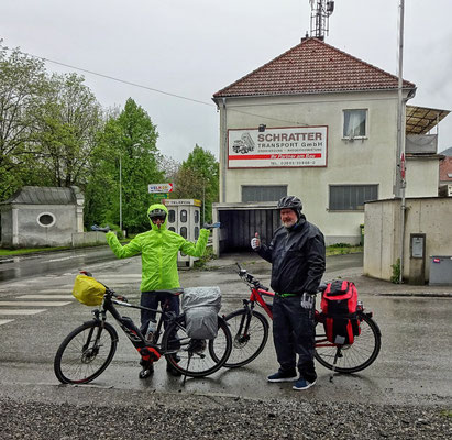 Abfahrt Kapfenberg bei Regen