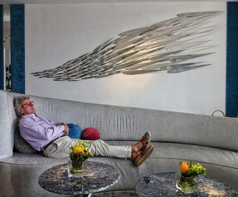Ruhen unter der Kunst