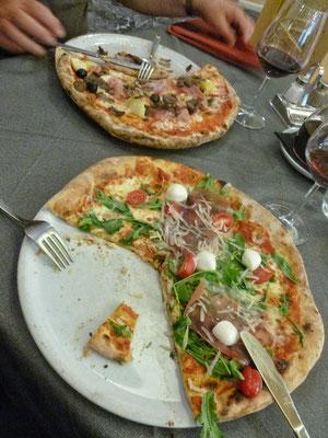 Natürlich Pizza in Venzone