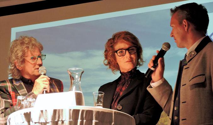 mit Bettina Kuhn und Andreas Duller