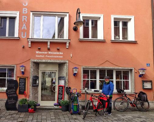 Abfahrt von Braunau
