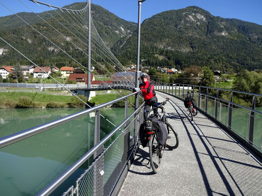 Radbrücke bei Puch