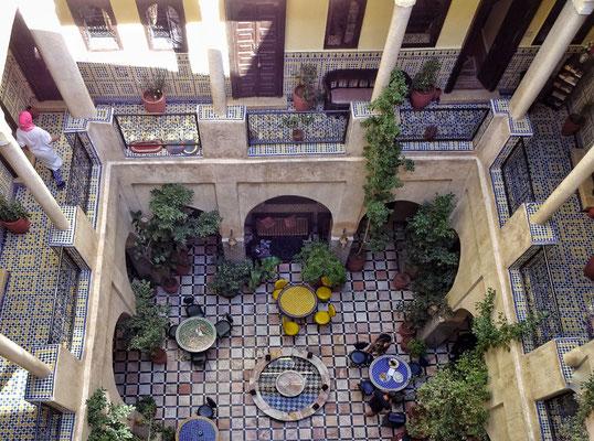 Restaurant Innenhof