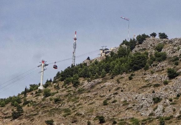 Gondel auf den Panoramaberg