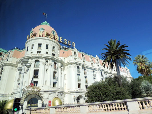 Das Berühmte Hotel Negesco in Nizza