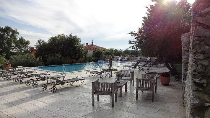 Pool im San Rocco