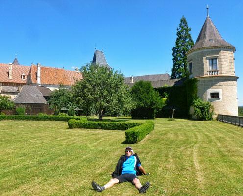 Im Park der Rosenburg