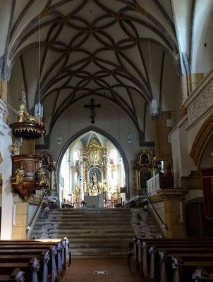 In der Kirche vom Stift