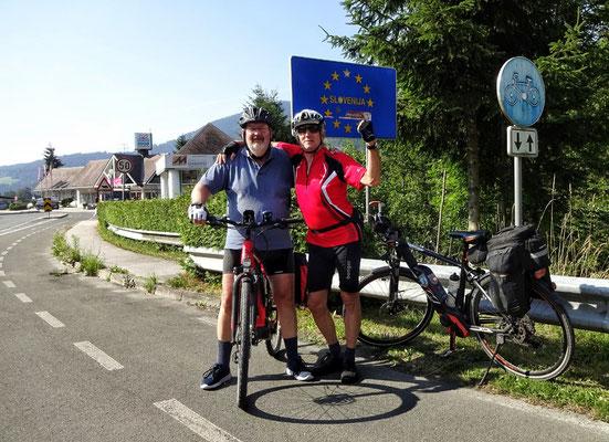 Mal kurz in Slowenien