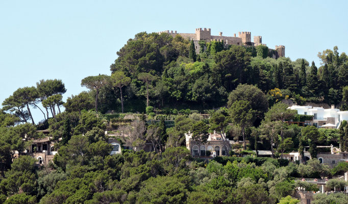 die Burg zu Capri
