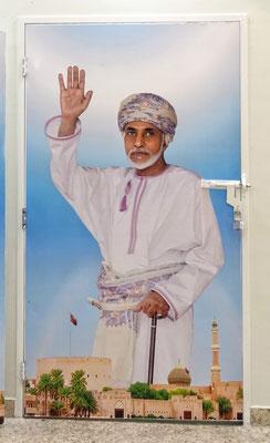 Der Sultan, oberster Herrscher des Oman