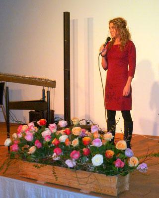 Vize BGM Nina Gaugg bei der Eröffnung