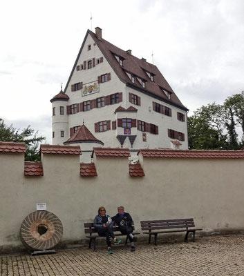 Schloss Leipheim in Privatbesitz