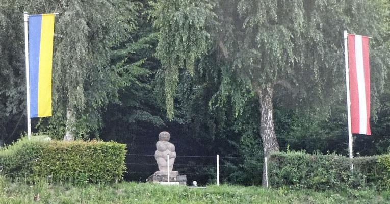 Denkmal der Venus von Willendorf