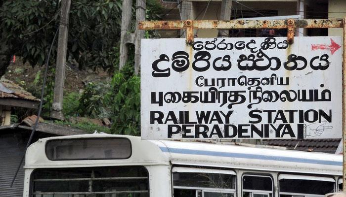 Fahrt mit der Eisenbahn